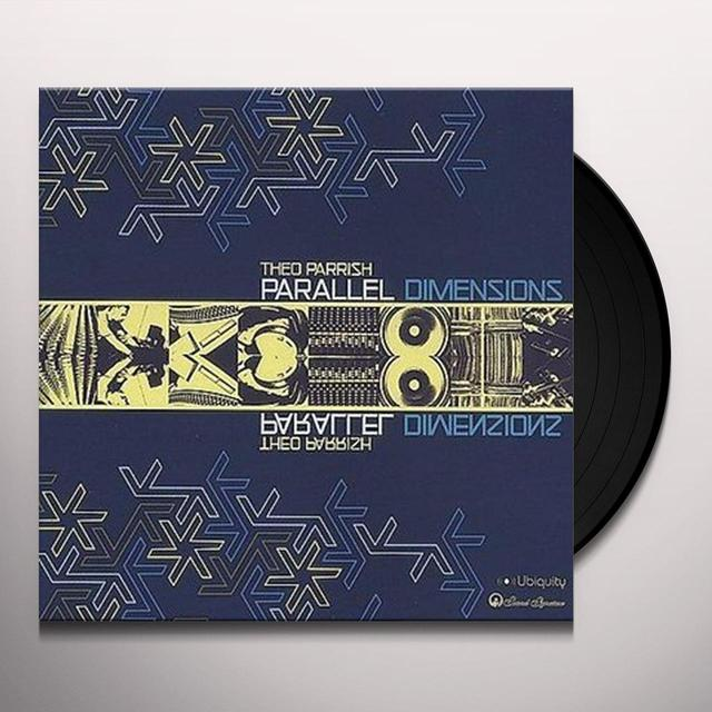 Theo Parrish PARALLEL DIMENSIONS Vinyl Record - Remastered