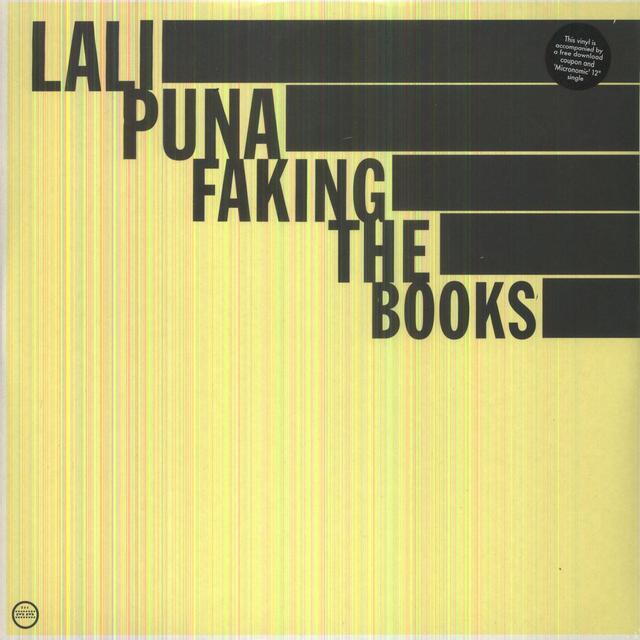 Lali Puna FAKING THE BOOKS Vinyl Record