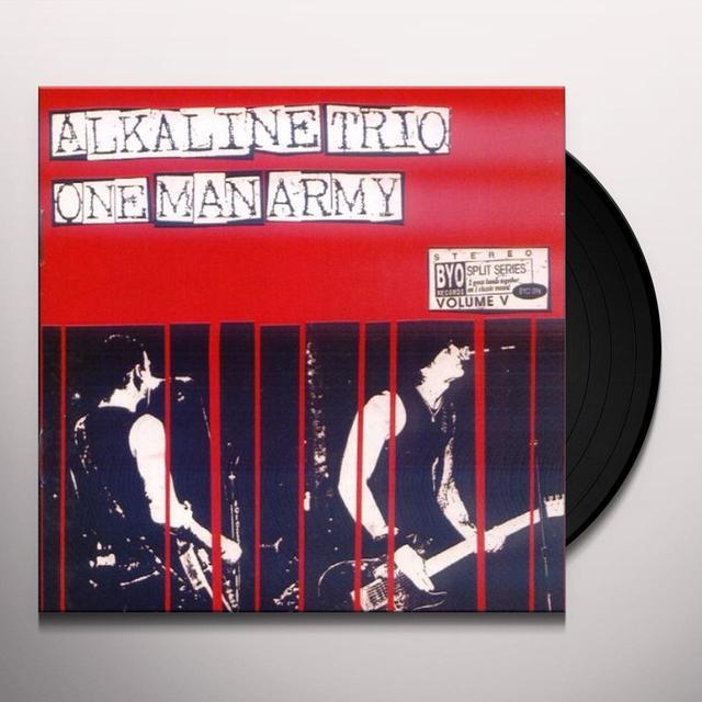Alkaline Trio / One Man Army SPLIT SERIES 5 Vinyl Record