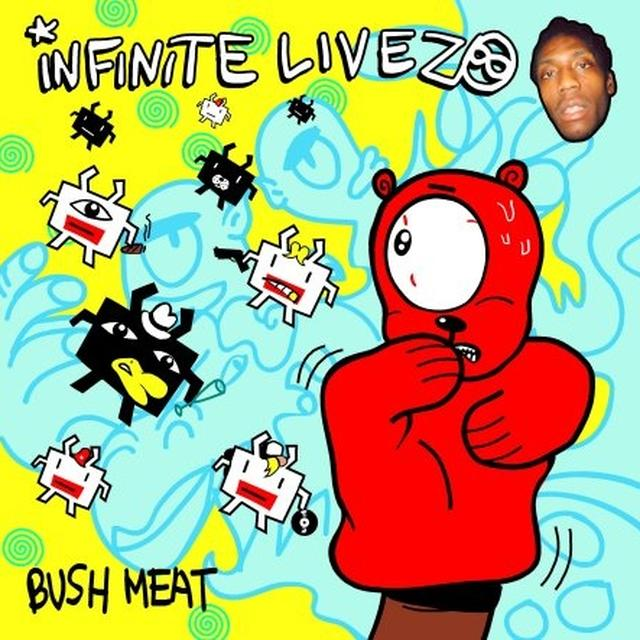 Infinite Livez BUSH MEAT Vinyl Record