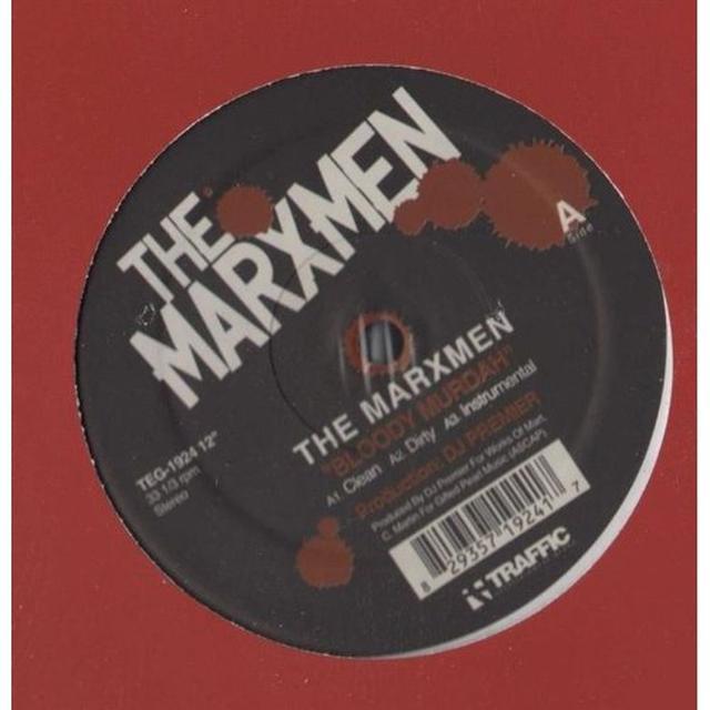 Marxmen BLOODY MURDAH B/W NINE & TWO CLIPS Vinyl Record