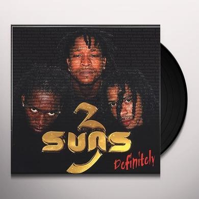 3 Suns DEFINITELY Vinyl Record