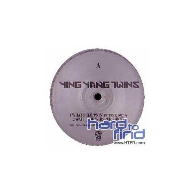 Ying Yang Twins WHAT'S HAPPENING (X3) / SALT SHAKER REMIX (X2) Vinyl Record