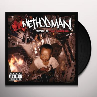 Method Man TICAL 0: THE PREQUEL Vinyl Record