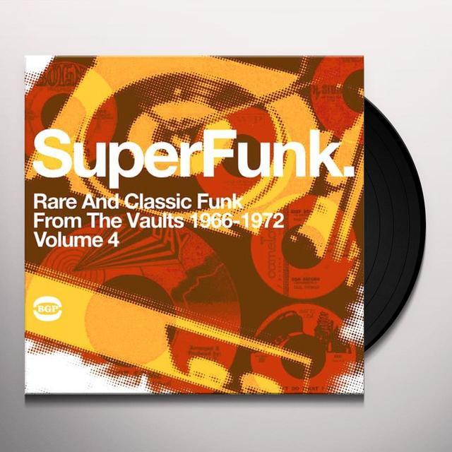 Super Funk 4 / Various (Uk) SUPER FUNK 4 / VARIOUS Vinyl Record - UK Import