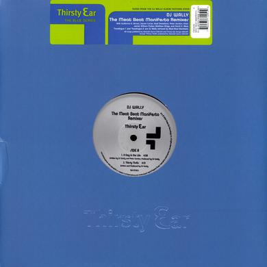 Meat Beat Manifesto BLUE SERIES REMIX Vinyl Record