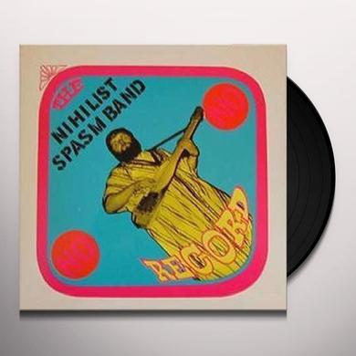Nihilist Spasm Band NO RECORD Vinyl Record