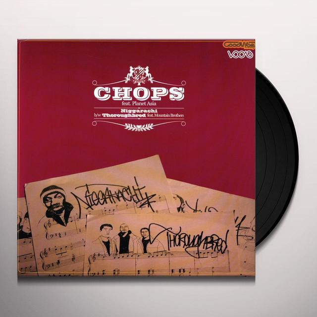 Chops / Planet Asia NIGGARACHI Vinyl Record