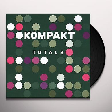 KOMPAKT TOTAL 3 / VARIOUS Vinyl Record