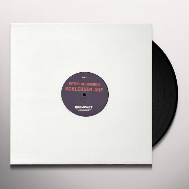 Peter Grummich SCHLEUSEN AUF Vinyl Record