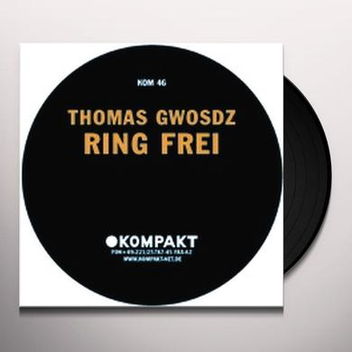 Thomas Gwosdz RING FREI Vinyl Record