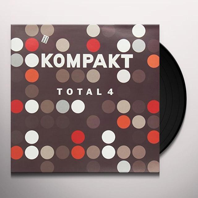 KOMPAKT TOTAL 4 / VARIOUS Vinyl Record