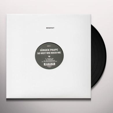 Jurgen Paape SO WEIT WIE NOCH NIE Vinyl Record