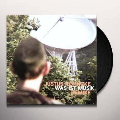 Justus Köhncke WAS IST MUSIK: THE REMIX Vinyl Record