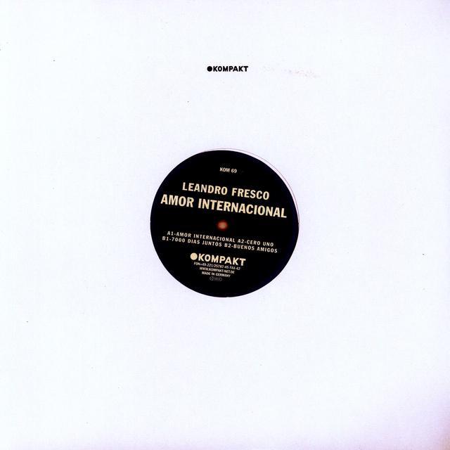 Leandro Fresco AMOR INTERNATIONAL Vinyl Record