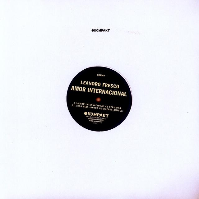 Leandro Fresco AMOR INTERNATIONAL Vinyl Record