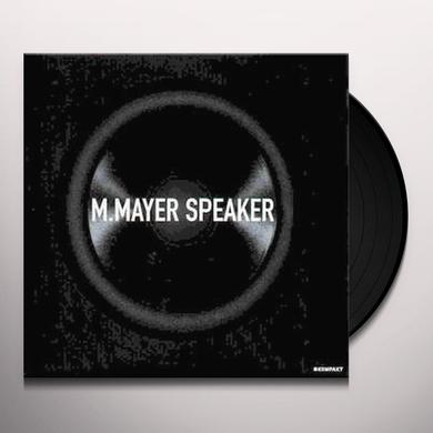 Michael Mayer SPEAKER Vinyl Record