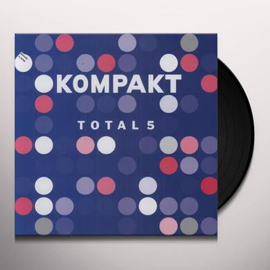 KOMPAKT TOTAL 5 / VARIOUS Vinyl Record