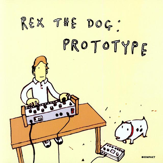 Rex The Dog PROTOTYPE Vinyl Record