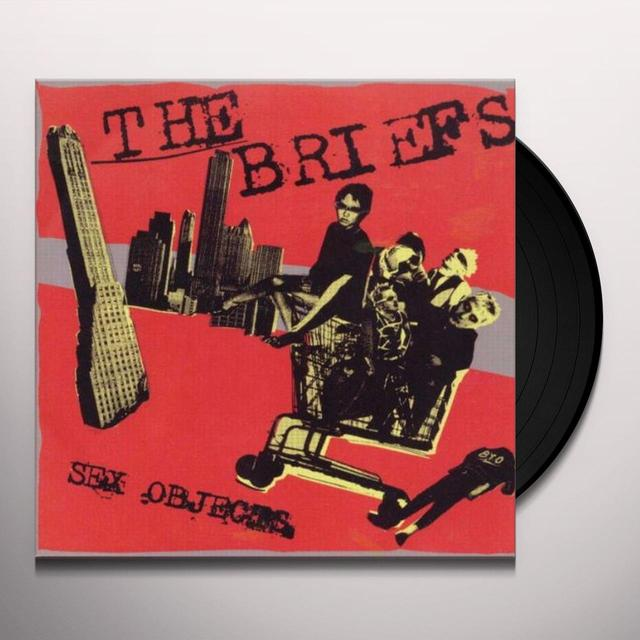 Briefs SEX OBJECTS Vinyl Record