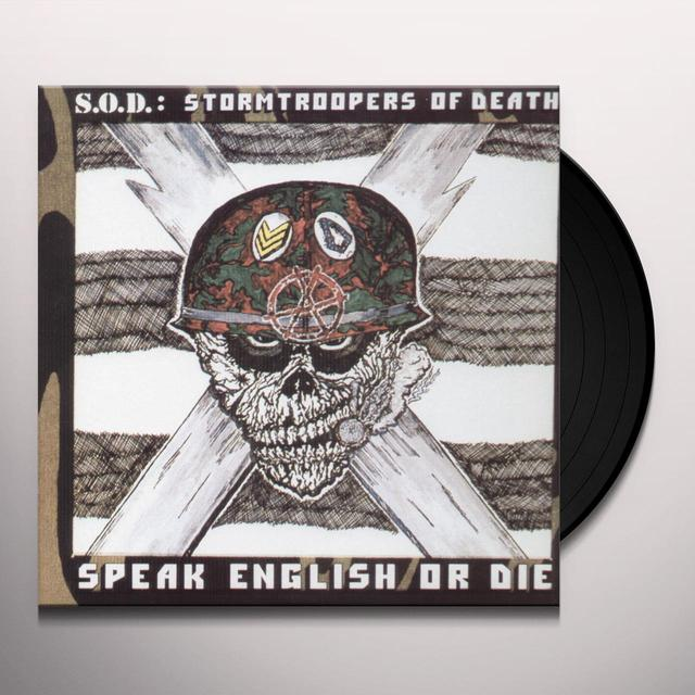 SOD SPEAK ENGLISH OR DIE Vinyl Record - Limited Edition