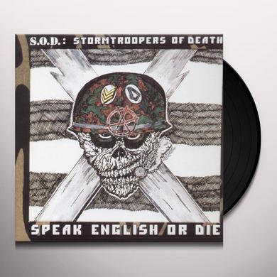 SOD SPEAK ENGLISH OR DIE Vinyl Record - Limited Edition