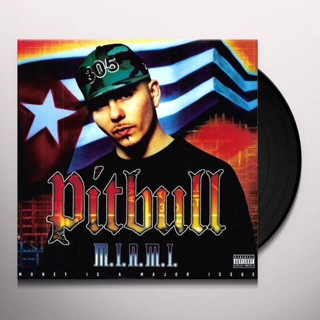 Pitbull MIAMI Vinyl Record