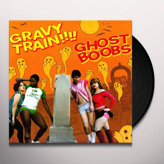 Gravy Train GHOST BOOBS Vinyl Record