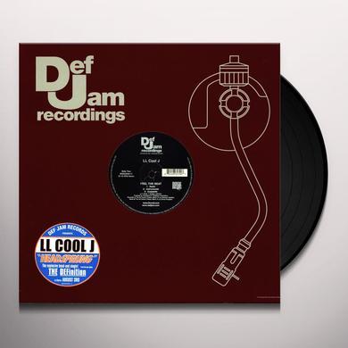 Ll Cool J HEADSPRUNG (X3) / FEEL THE BEAT (X3) Vinyl Record