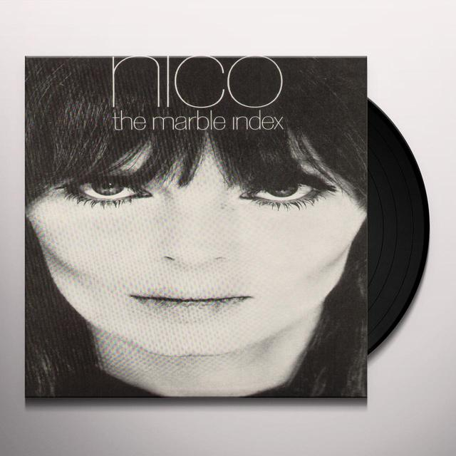 Nico MARBLE INDEX Vinyl Record