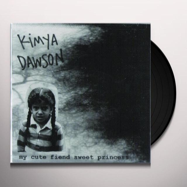 Kimya Dawson MY CUTE FIEND SWEET PRINCESS Vinyl Record