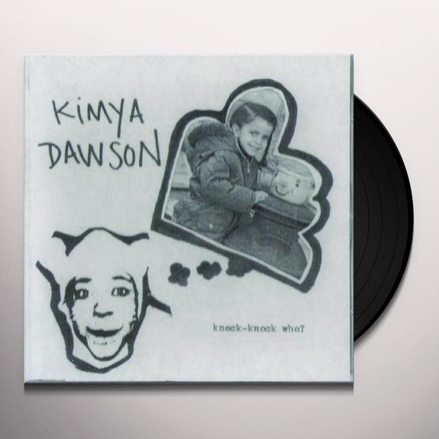 Kimya Dawson KNOCK KNOCK WHO Vinyl Record
