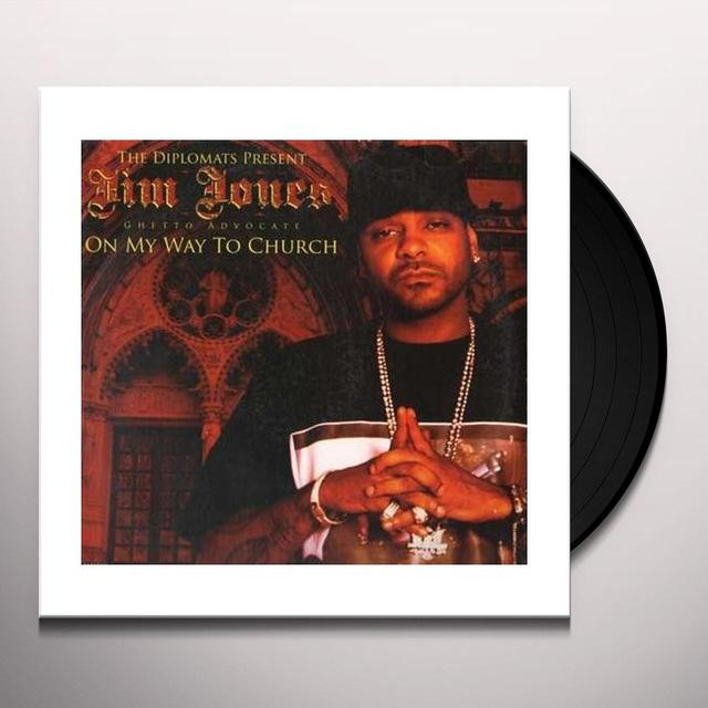 Jim Jones Presents The Diplomats ON MY WAY TO CHURCH Vinyl Record
