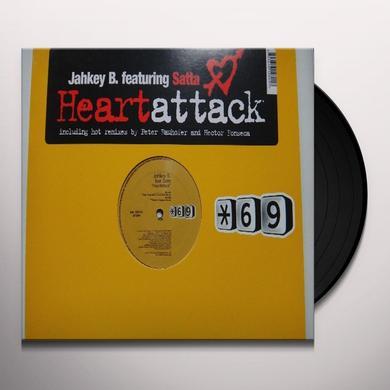 Jahkey B HEARTATTACK Vinyl Record