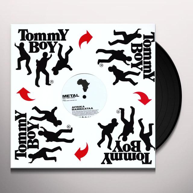 Afrika Bambaataa METAL (X3) Vinyl Record