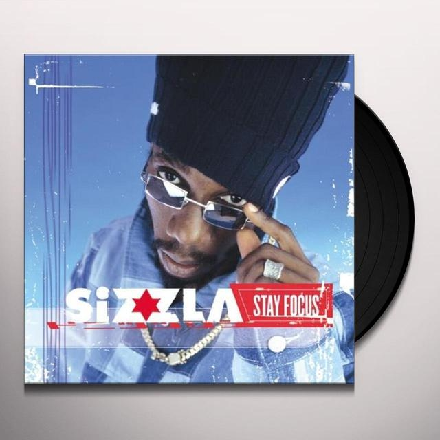 Sizzla STAY FOCUS Vinyl Record