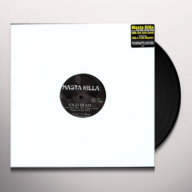 Masta Killa / Wu-Tang Clan OLD MAN / SILVERBACKS Vinyl Record