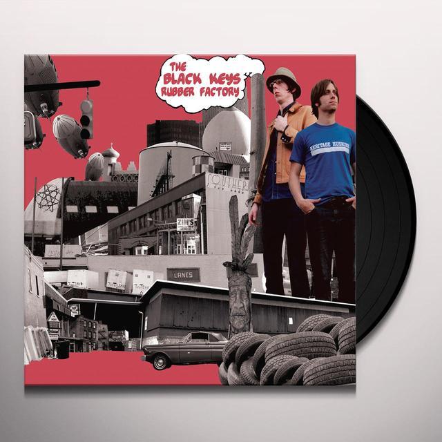 Black Keys RUBBER FACTORY Vinyl Record