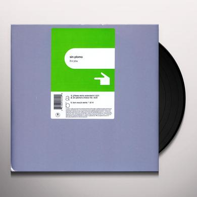 Sin Plomo IT'S YOU (X3) Vinyl Record