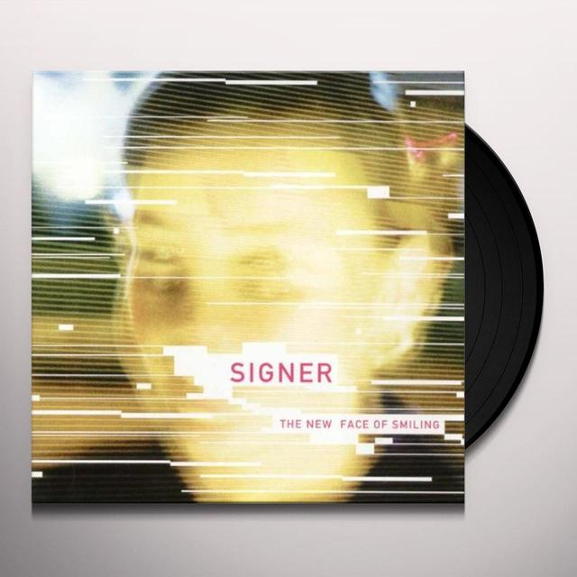 Signer NEW FACE OF SMILING Vinyl Record
