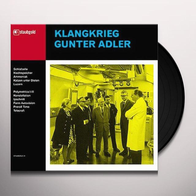 KLANGKRIEG/GUNTER ADLER / KLANGKRIEG GUNTER/ADLER Vinyl Record