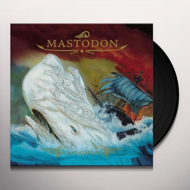 Mastodon LEVIATHAN Vinyl Record - 180 Gram Pressing