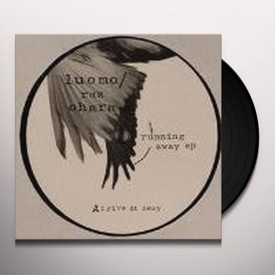 Luomo/Raz Ohara RUNNING AWAY (EP) Vinyl Record