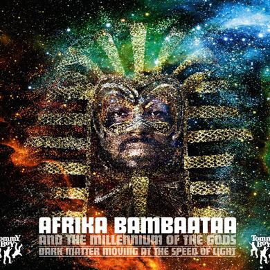 Afrika Bambaataa DARK MATTER: MOVING AT THE SPEED OF LIGHT Vinyl Record