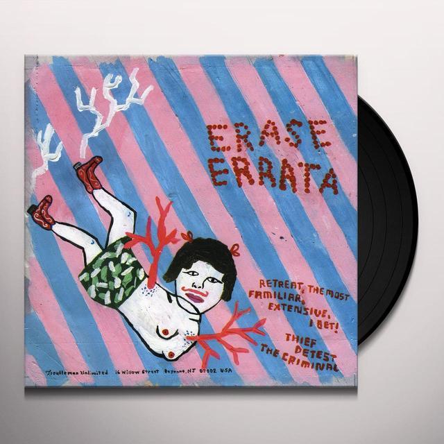 Erase Errata / Numbers SPLIT (Vinyl)