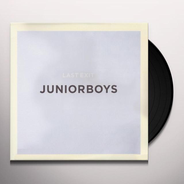 Junior Boys LAST EXIT Vinyl Record