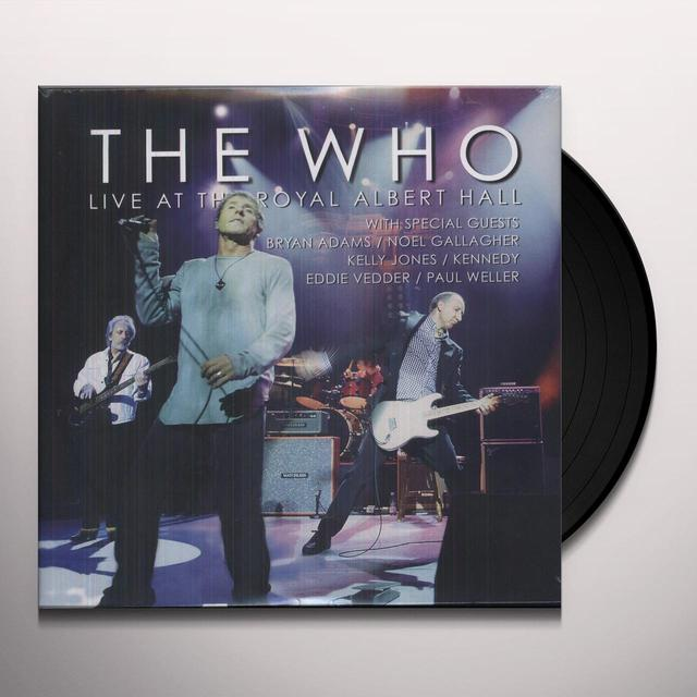 The Who LIVE AT THE ROYAL ALBERT HALL Vinyl Record