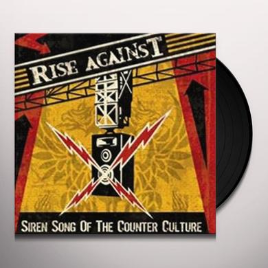 Rise Against SIREN SONG OF THE COUNTER-CULTURE Vinyl Record