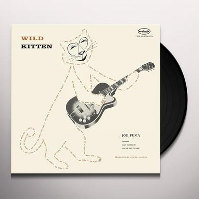 Joe Puma WILD KITTEN Vinyl Record