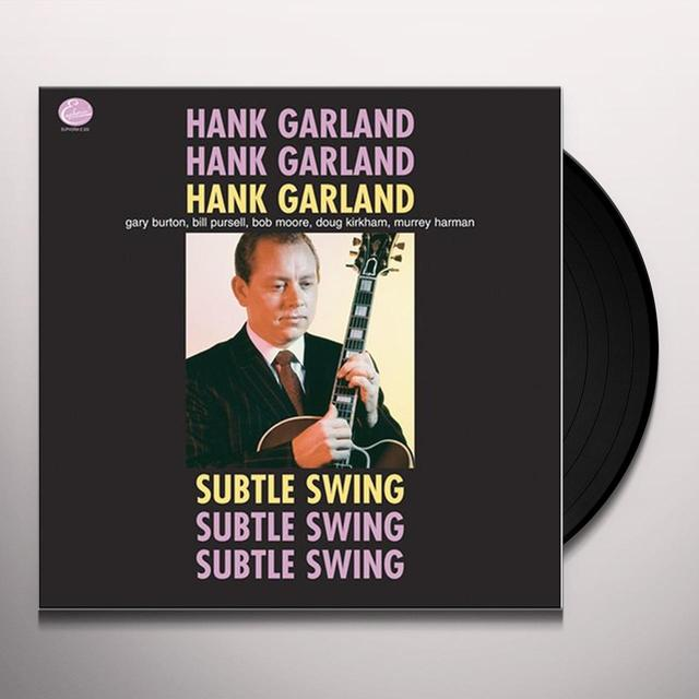 Hank Garland SUBTLE SWING Vinyl Record